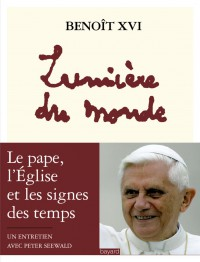 Couverture «Lumière du monde – Benoît XVI»
