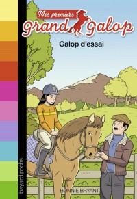 Couverture «GALOP D'ESSAI»
