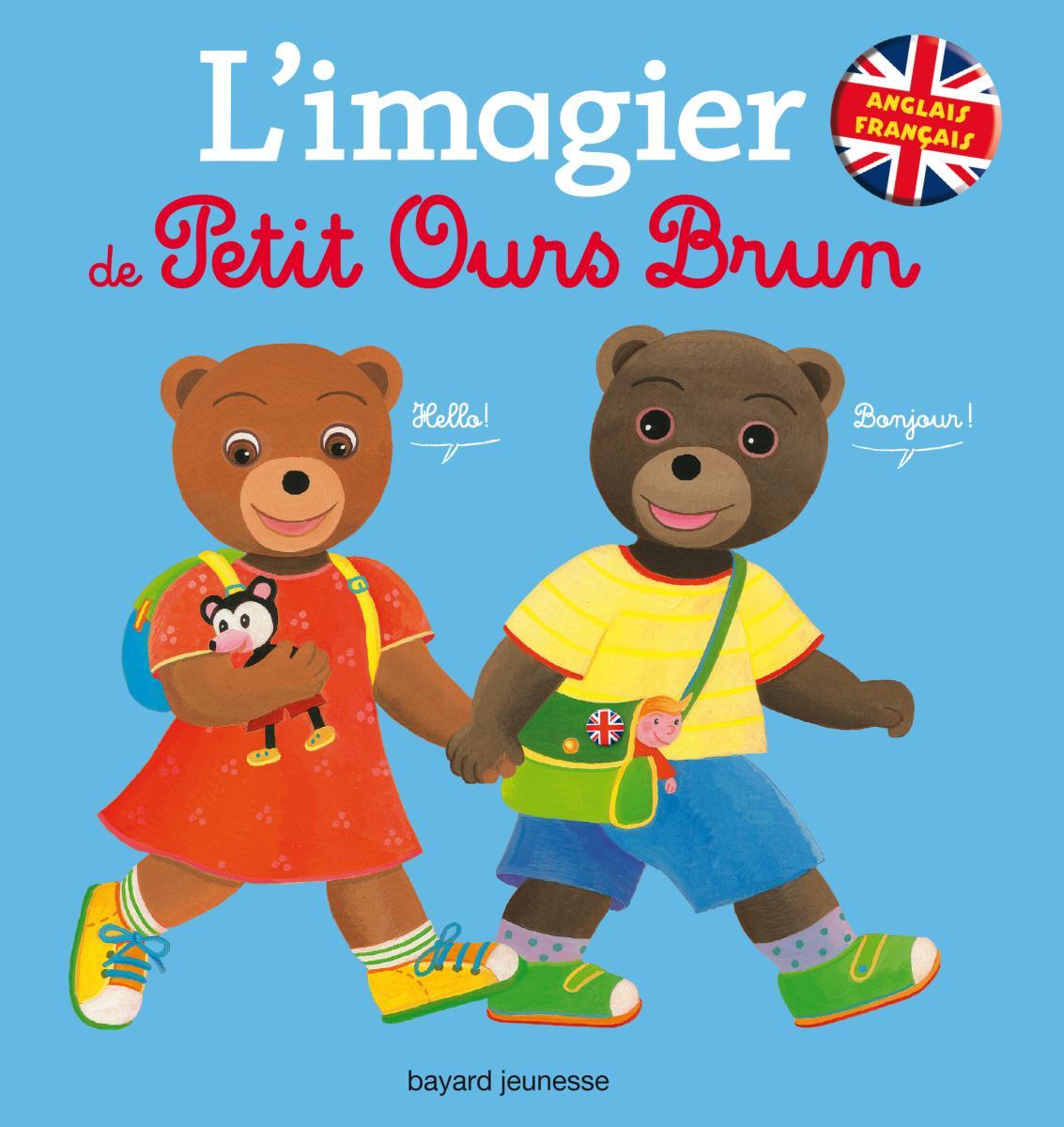 Couverture de «Imagier français anglais Petit Ours Brun»