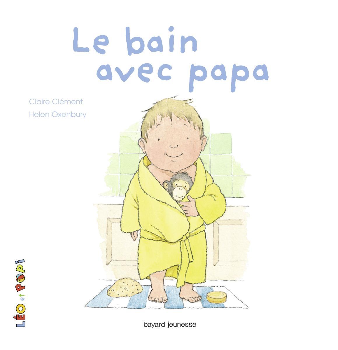 Couverture de «Le bain avec papa»