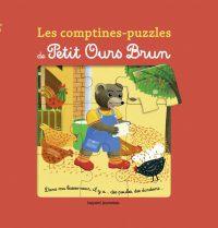 Couverture «Les comptines puzzle de Petit Ours Brun»