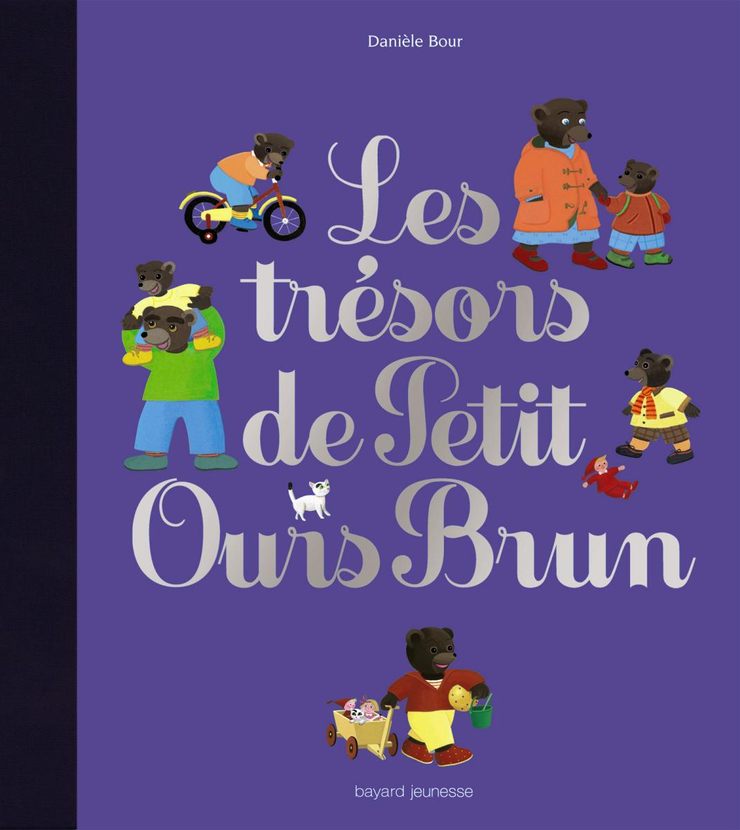 Couverture de «LES TRÉSORS DE PETIT OURS BRUN»