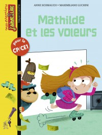 Couverture «Mathilde et les voleurs»