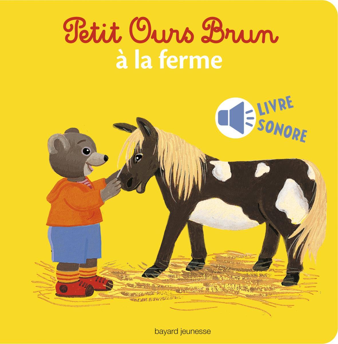Couverture de «PETIT OURS BRUN À LA FERME»