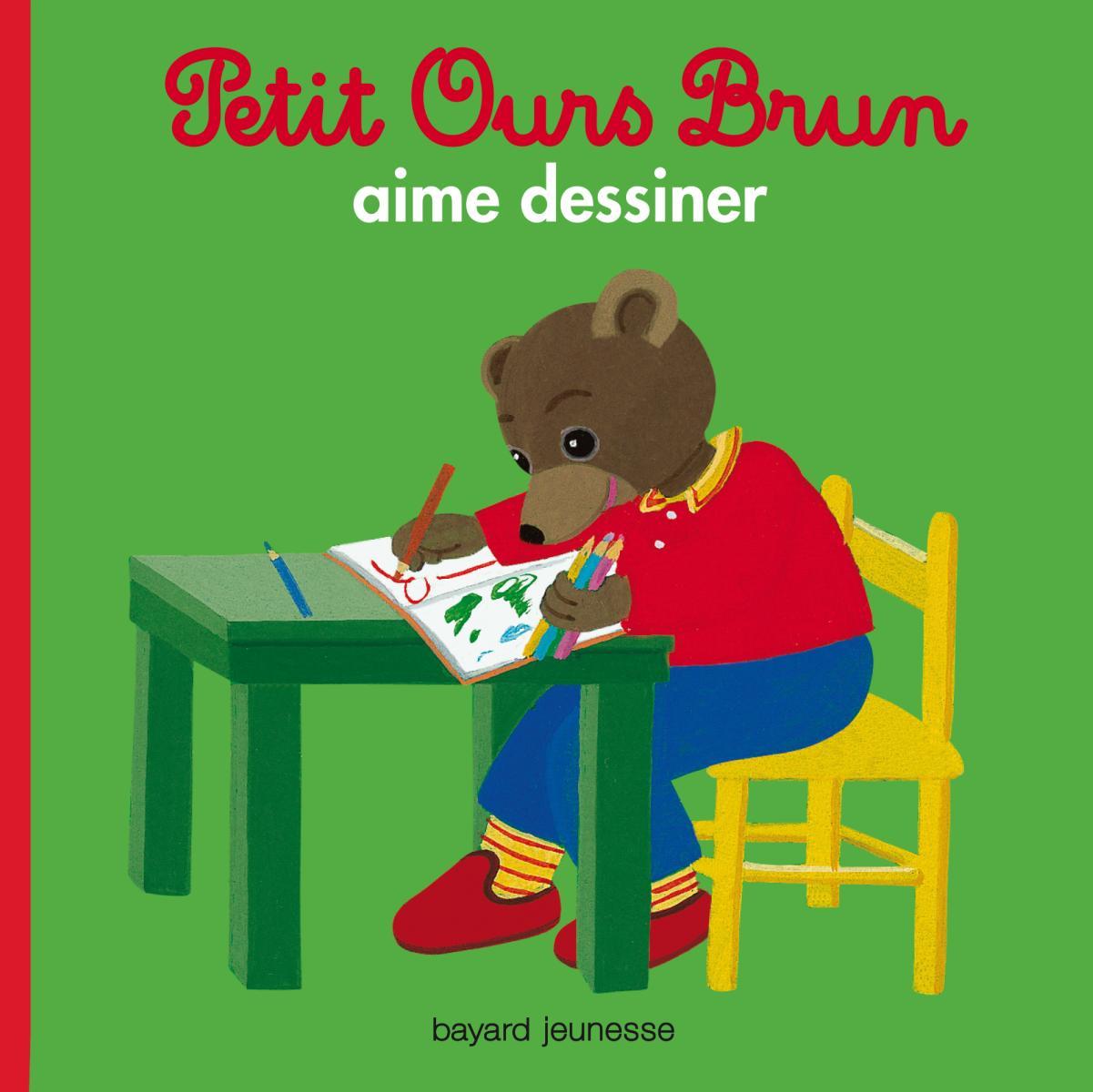 Couverture de «Petit Ours Brun aime dessiner»