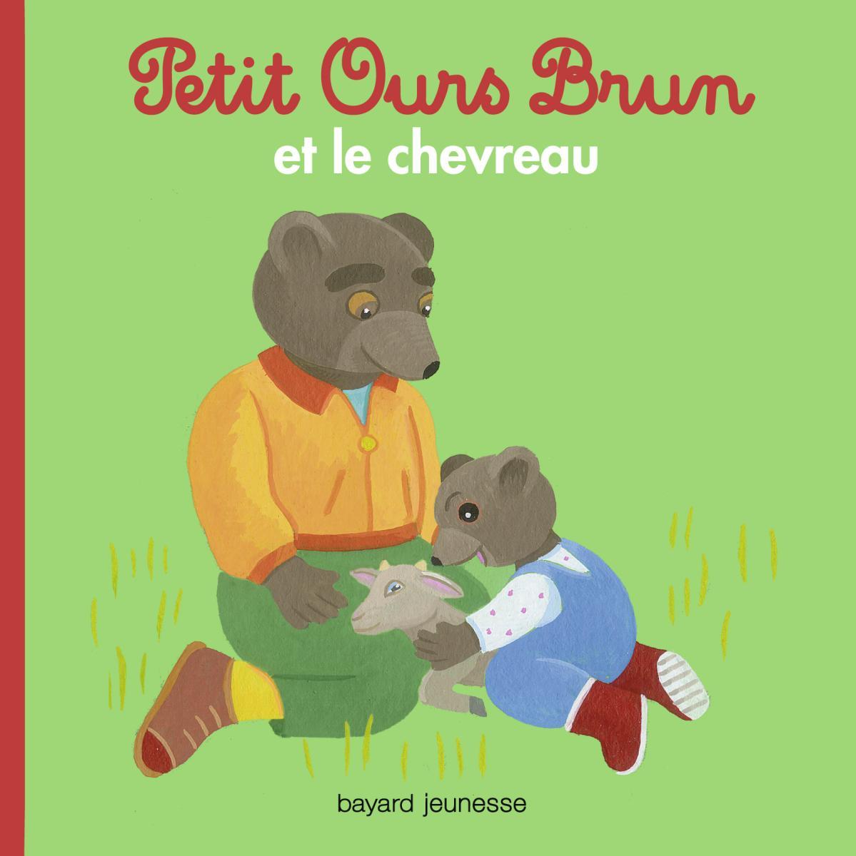 Couverture de «Petit Ours Brun et le chevreau»