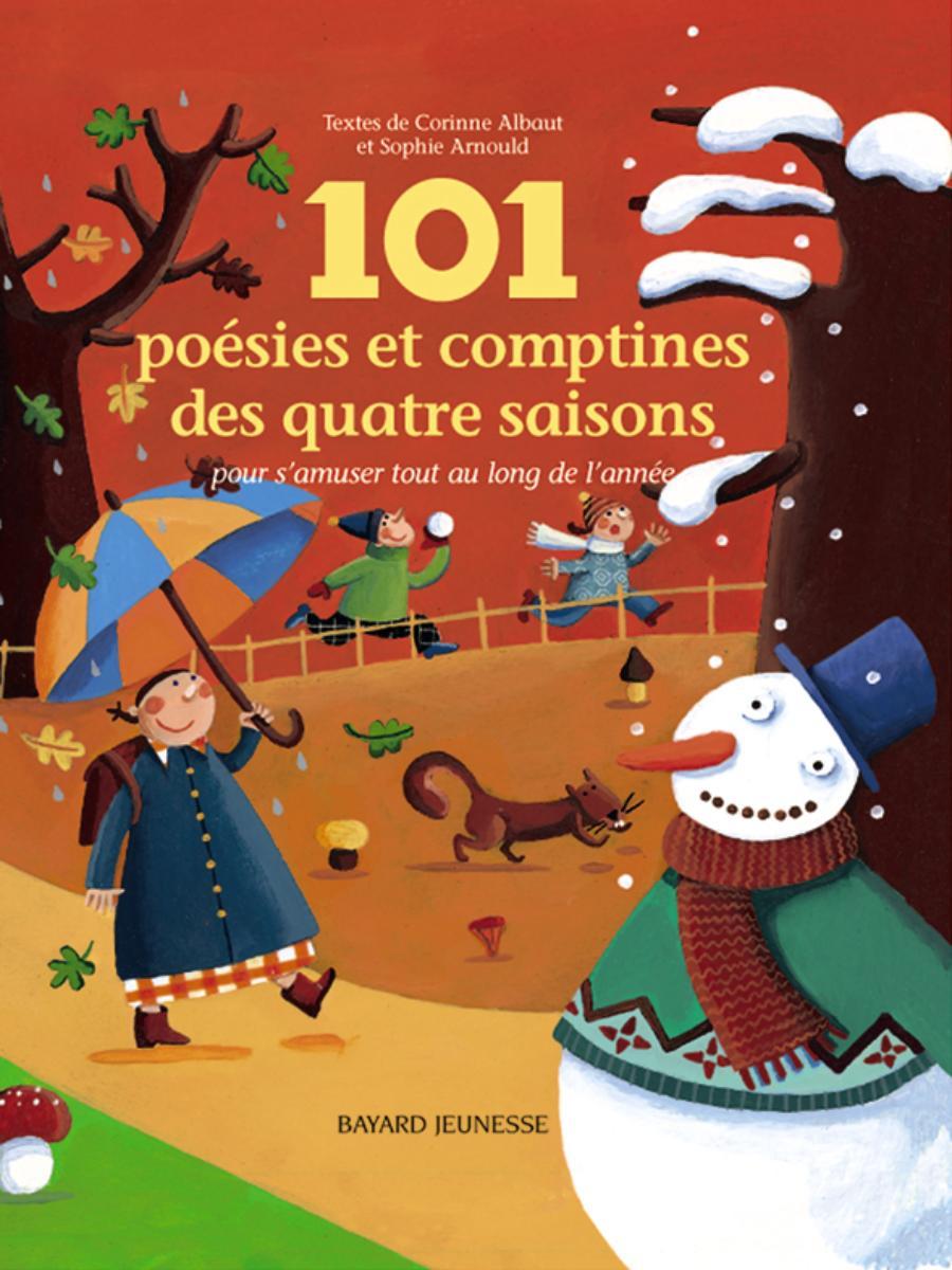 Couverture de «101 POÉSIES ET COMPTINES DES QUATRE SAISONS»