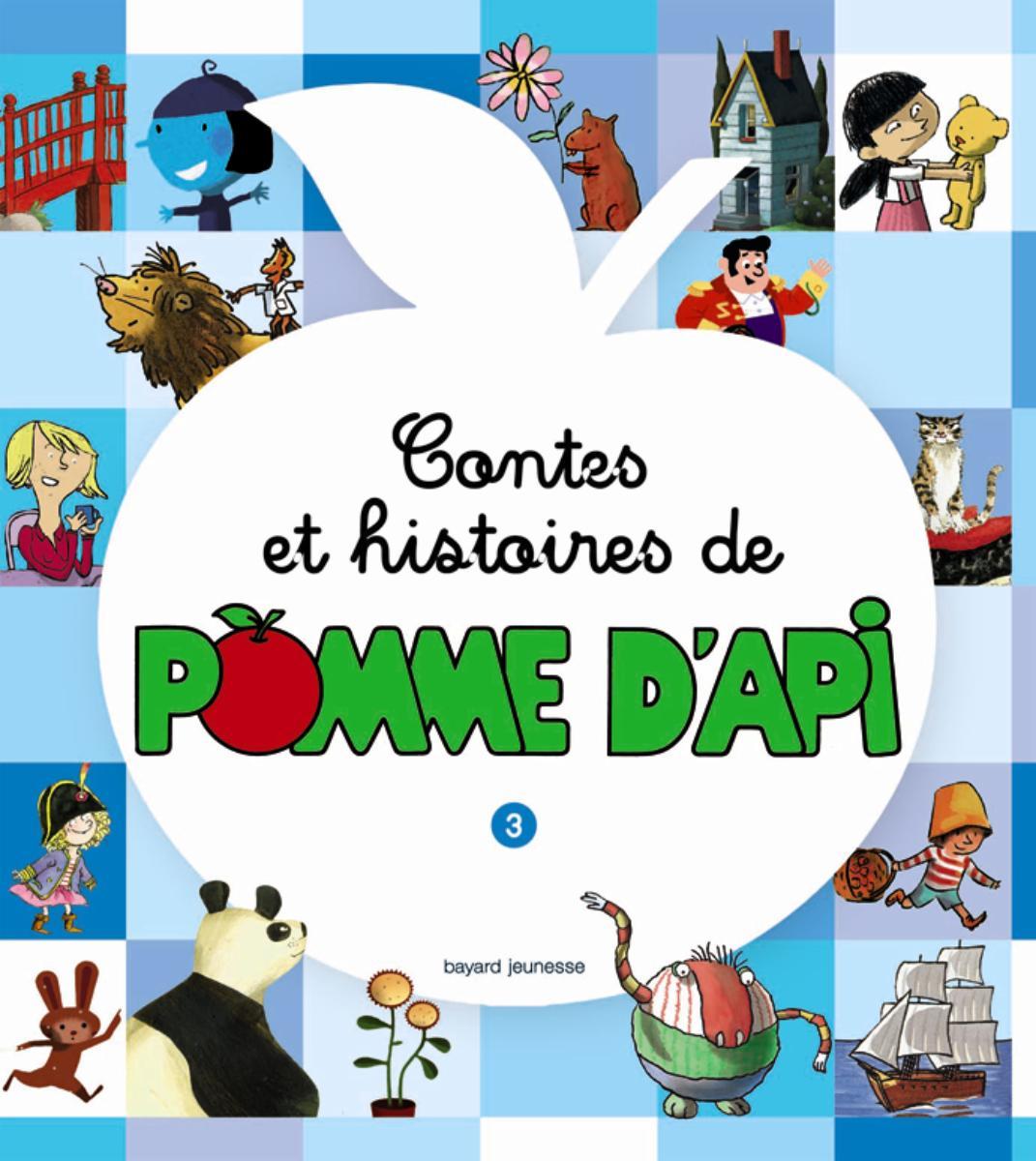 Couverture de «CONTES ET HISTOIRES DE POMME D'API – T3»