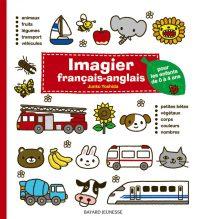 Couverture «Imagier français-anglais (rouge)»
