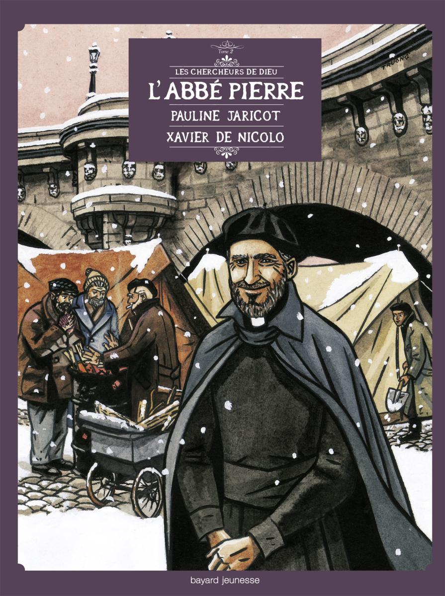 Couverture de «ABBE PIERRE ET L'ESPOIR D'EMMAÜS (L')»