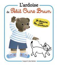 Couverture «Les ardoises de Petit Ours Brun Les animaux»