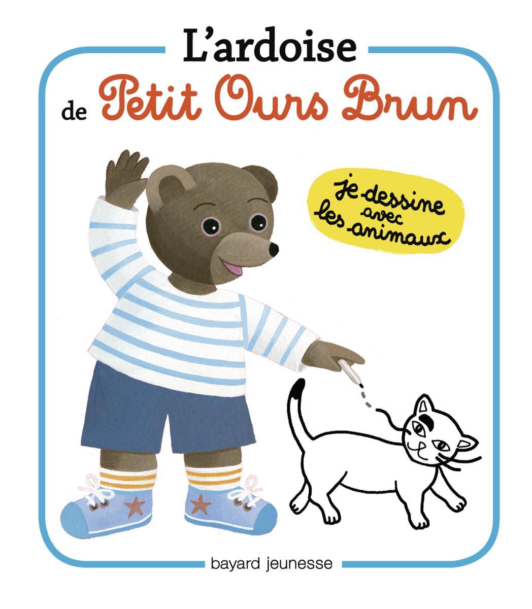 Couverture de «Les ardoises de Petit Ours Brun Les animaux»