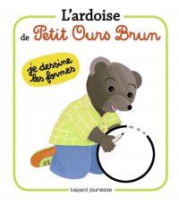 Couverture «Les ardoises de Petit Ours Brun Les formes»
