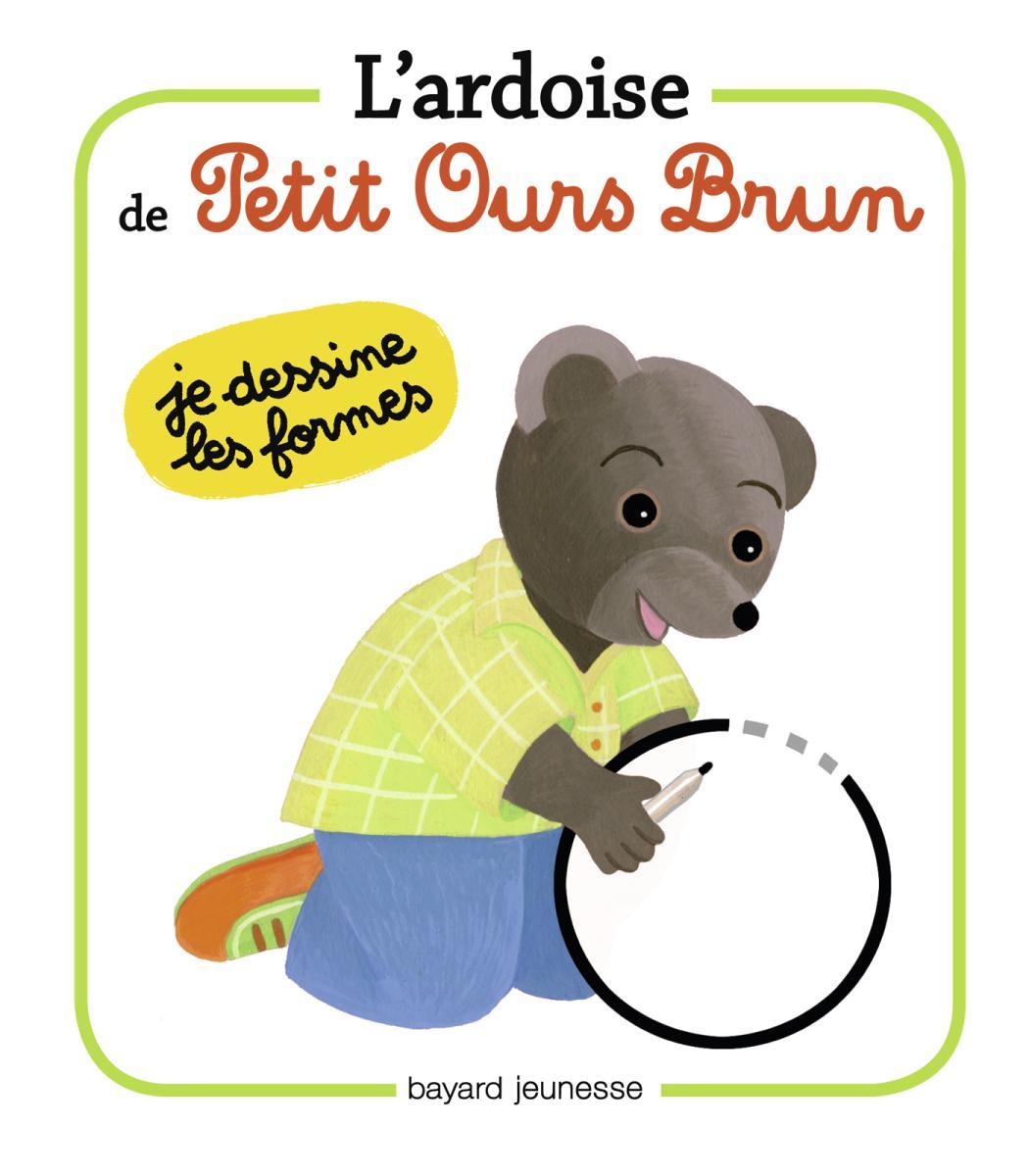 Couverture de «Les ardoises de Petit Ours Brun Les formes»