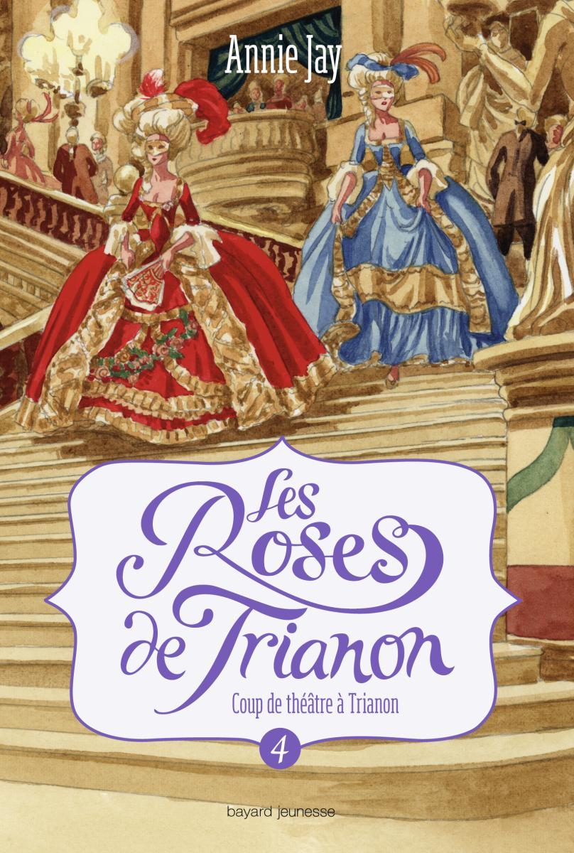 Couverture de «LES ROSES DE TRIANON»