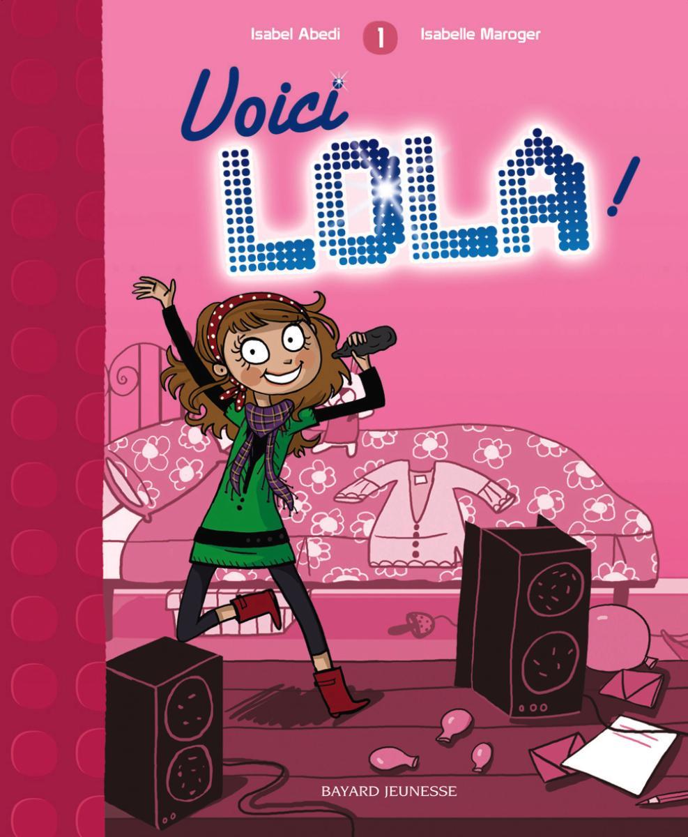 Couverture de «Voici Lola !»