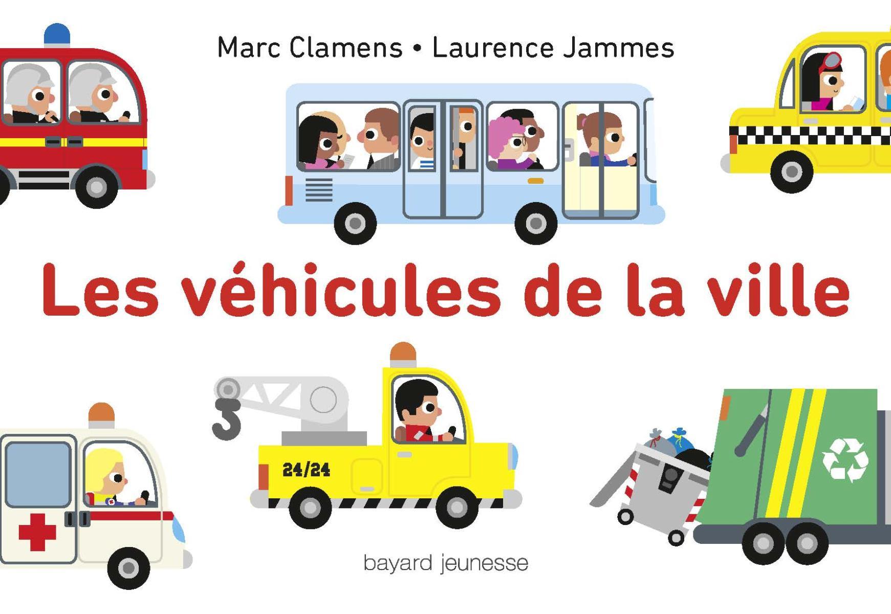 Couverture de «Les véhicules de la ville»
