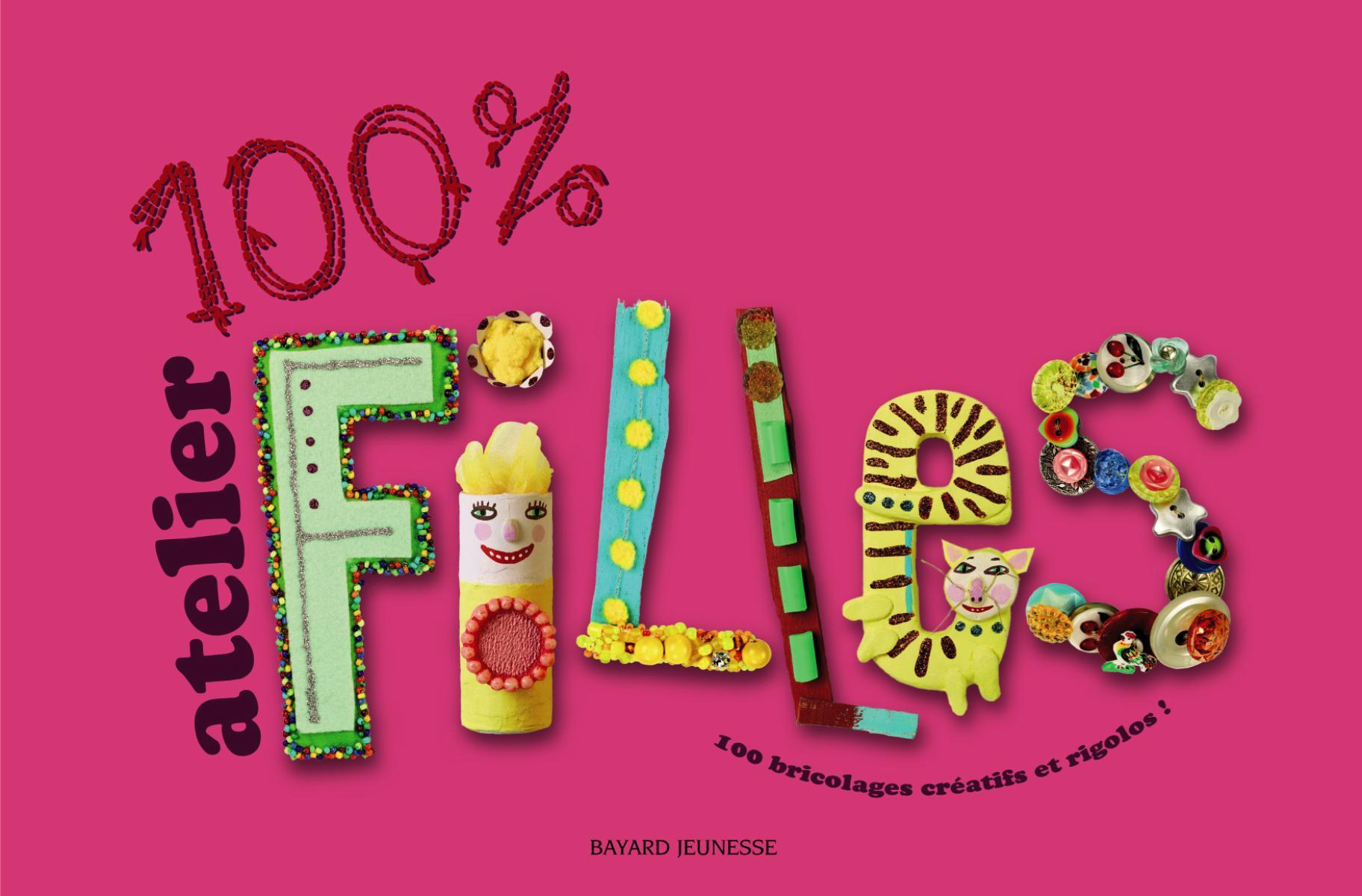 Couverture de «100% atelier filles»