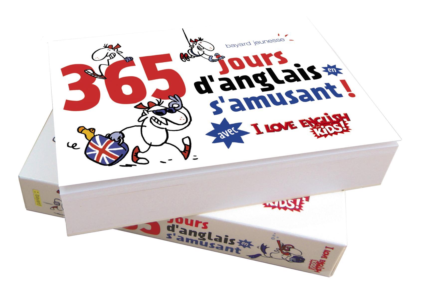 Couverture de «365 JOURS D'ANGLAIS EN S'AMUSANT»