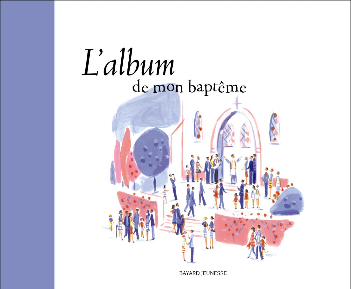 Couverture de «ALBUM DE MON BAPTEME (L)»