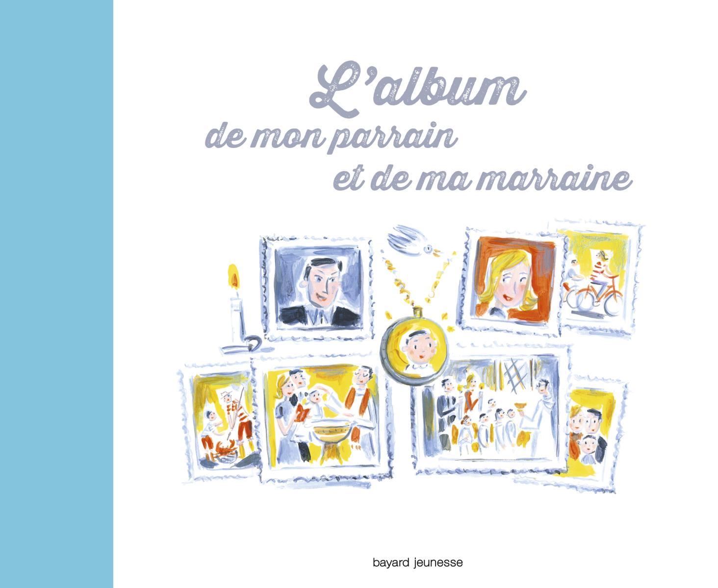 Couverture de «ALBUM DE MON PARRAIN ET DE MA MARRAINE (L')»
