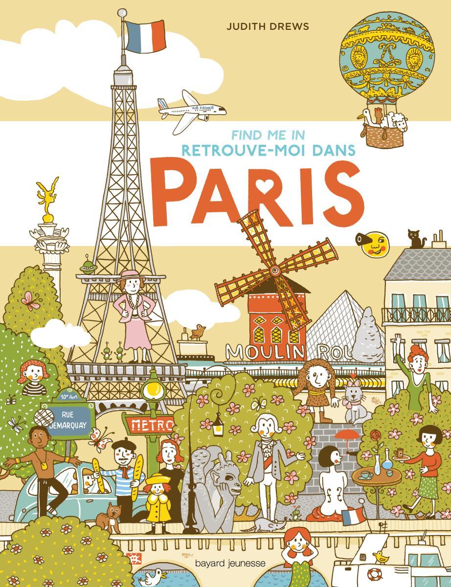 Couverture de «Cherche-moi à Paris»