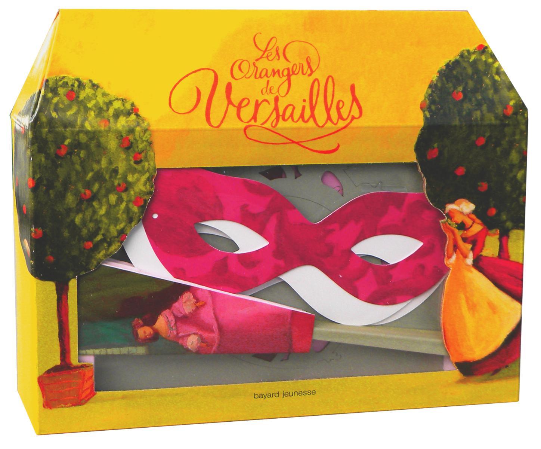 Couverture de «Coffret Les Orangers de Versailles»