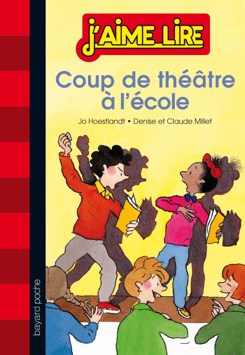 Couverture de «COUP DE THÉÂTRE À L'ÉCOLE»