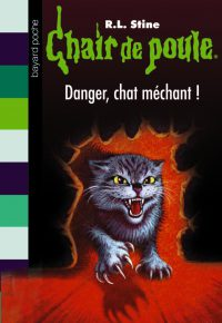 Couverture « DANGER, CHAT MÉCHANT ! »