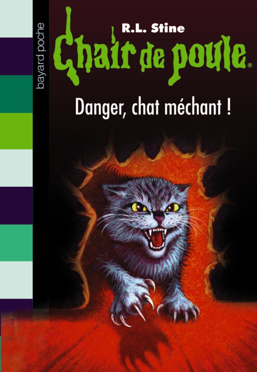 Couverture de «DANGER, CHAT MÉCHANT !»