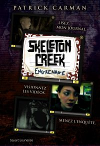 Couverture « ENGRENAGES – SKELETON CREEK – T2 »