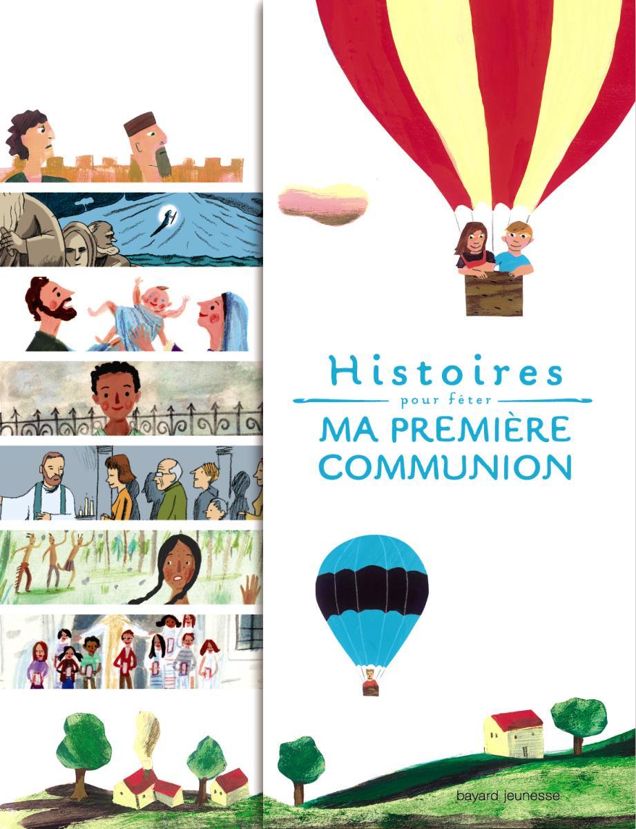 Couverture de «HISTOIRES POUR FETER MA PREMIERE COMMUNION»