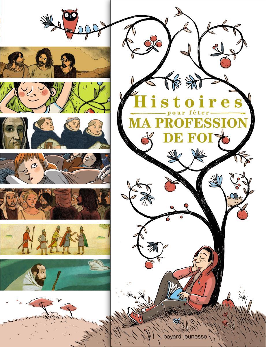 Couverture de «HISTOIRES POUR FETER MA PROFESSION DE FOI»