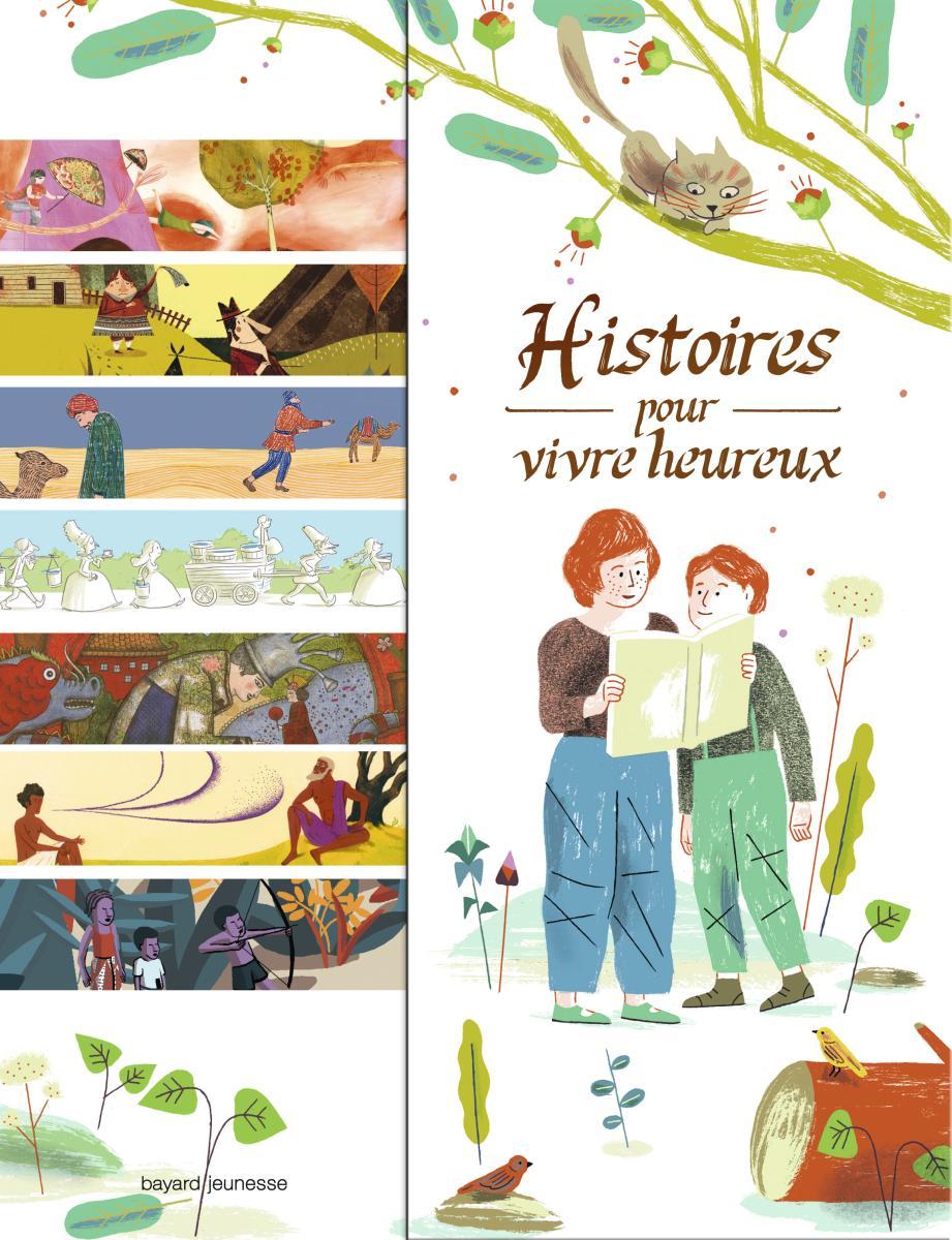 Couverture de «Histoires pour vivre heureux»