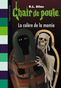 Couverture «LA COLÈRE DE LA MOMIE»