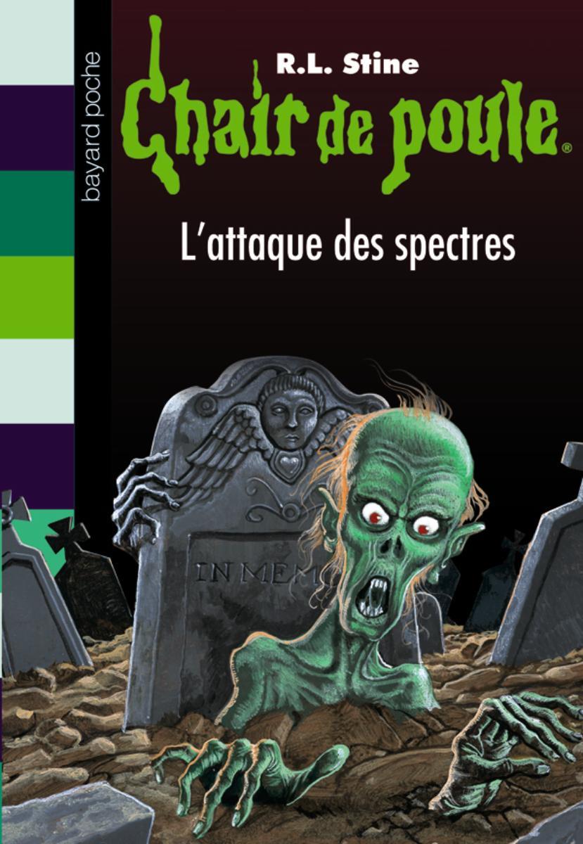 Couverture de «L'ATTAQUE DES SPECTRES»