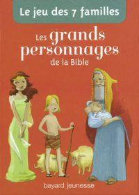 Couverture «Le jeu de 7 familles grands personnages de la Bible»