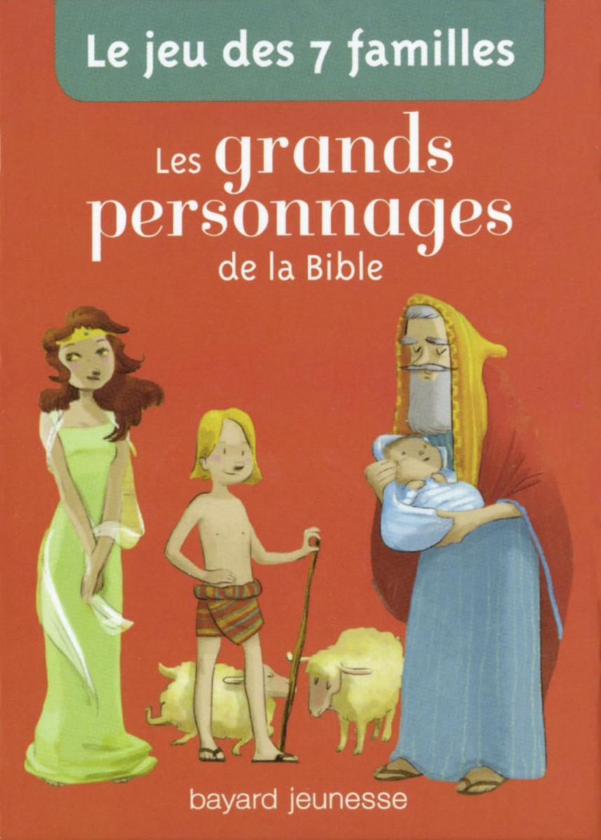 Couverture de «Le jeu de 7 familles grands personnages de la Bible»
