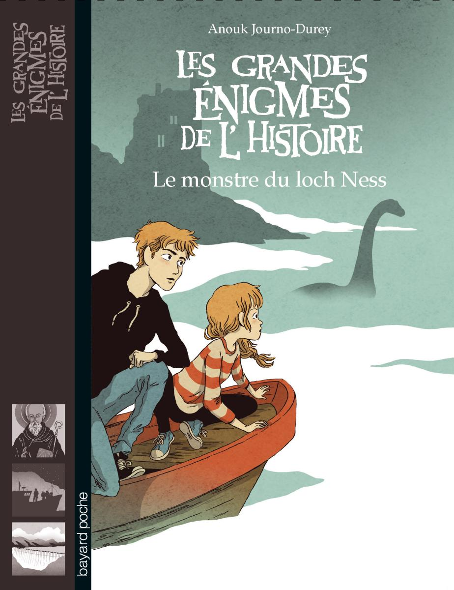 Couverture de « LE MONSTRE DU LOCH NESS »