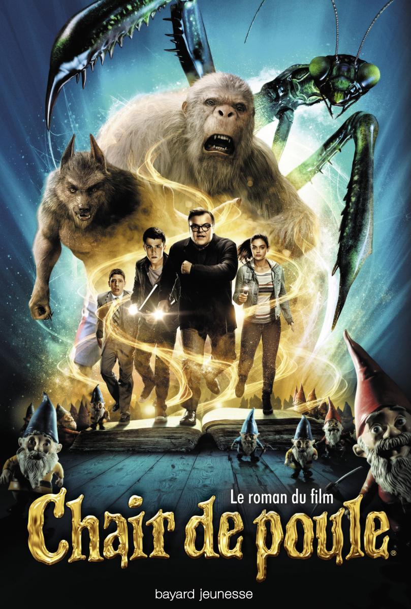 Couverture de «LE ROMAN DU FILM CHAIR DE POULE»