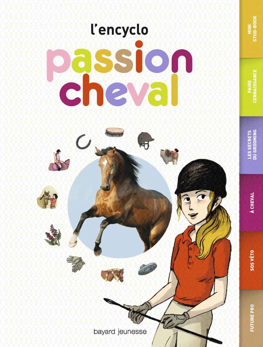 Couverture de « L'ENCYCLO – PASSION CHEVAL »