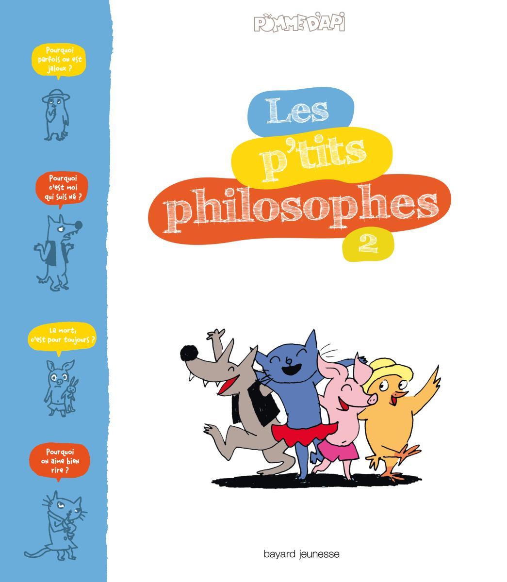 Couverture de «LES P'TITS PHILOSOPHES»