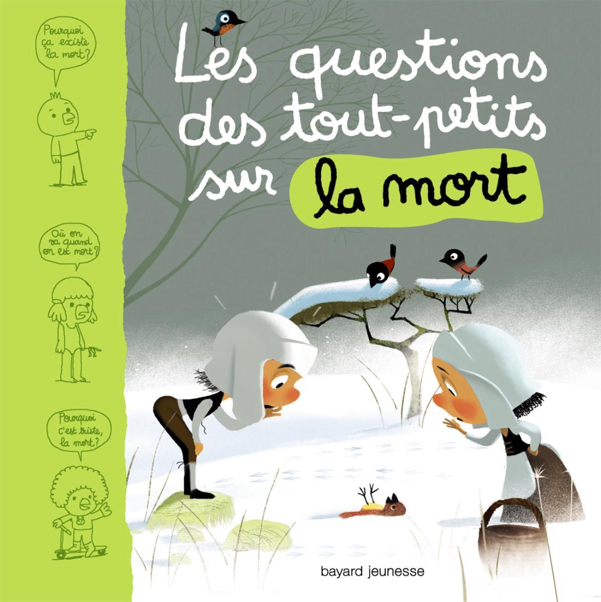 Couverture de «Les questions des petits sur la mort»