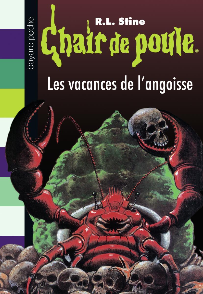Couverture de «LES VACANCES DE L'ANGOISSE»