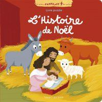 Couverture «L'HISTOIRE DE NOËL EN PUZZLE»
