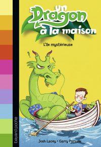 Couverture «L'île mystérieuse – Un dragon à la maison»