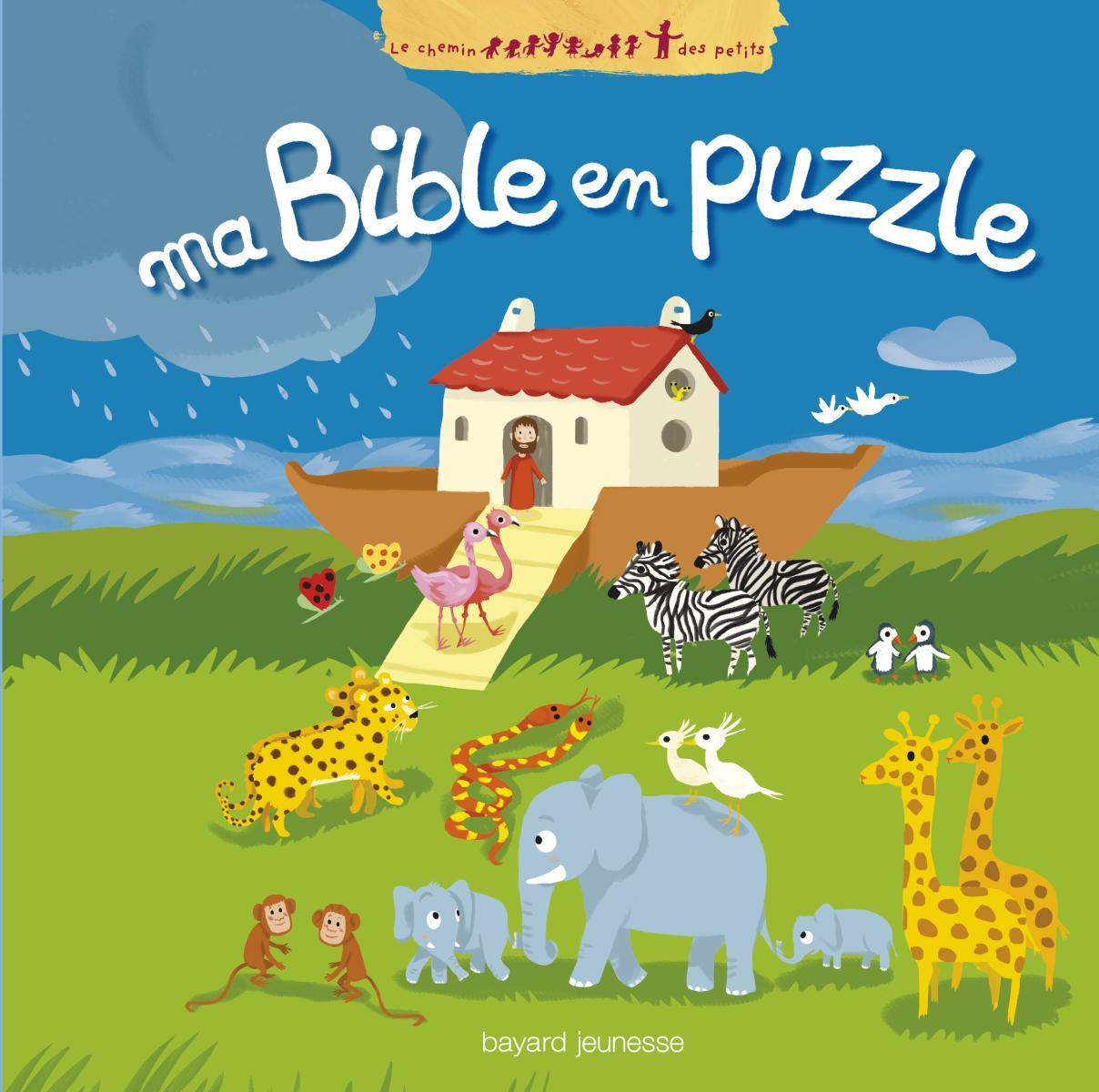 Couverture de «MA BIBLE EN PUZZLE»