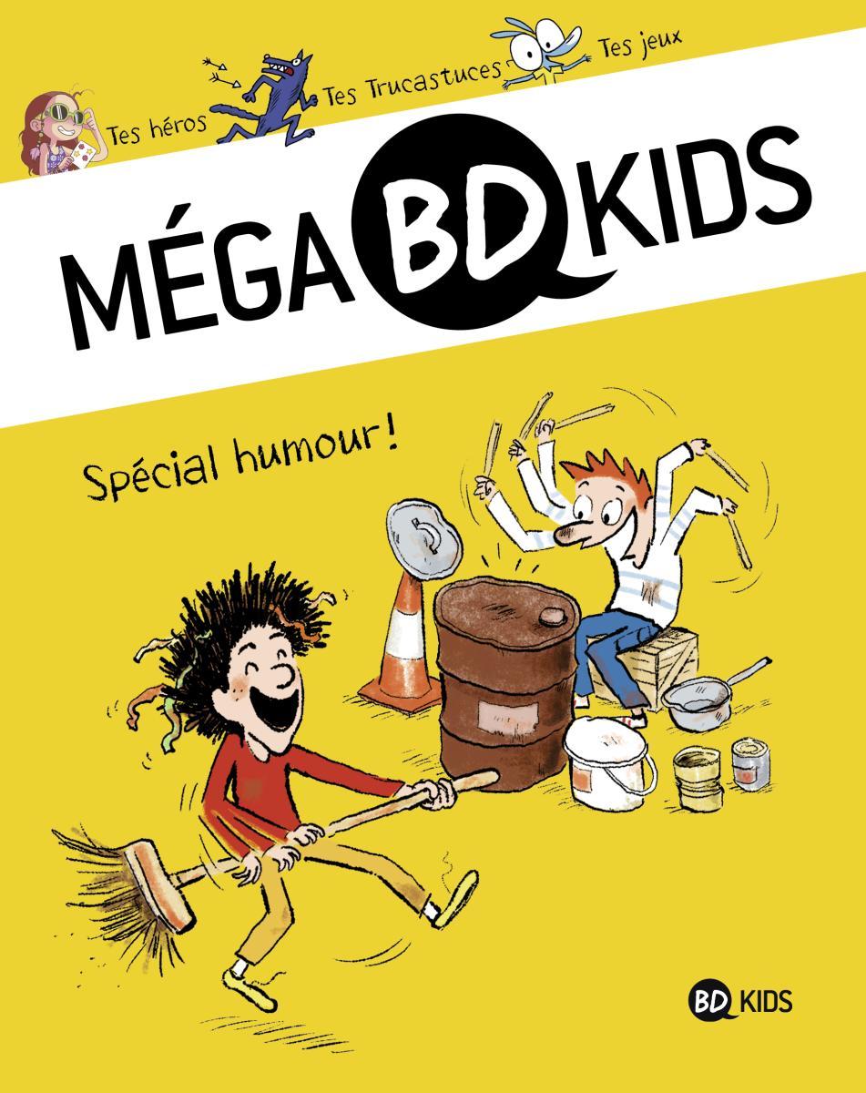 Couverture de «Méga BD Kids Spécial humour»