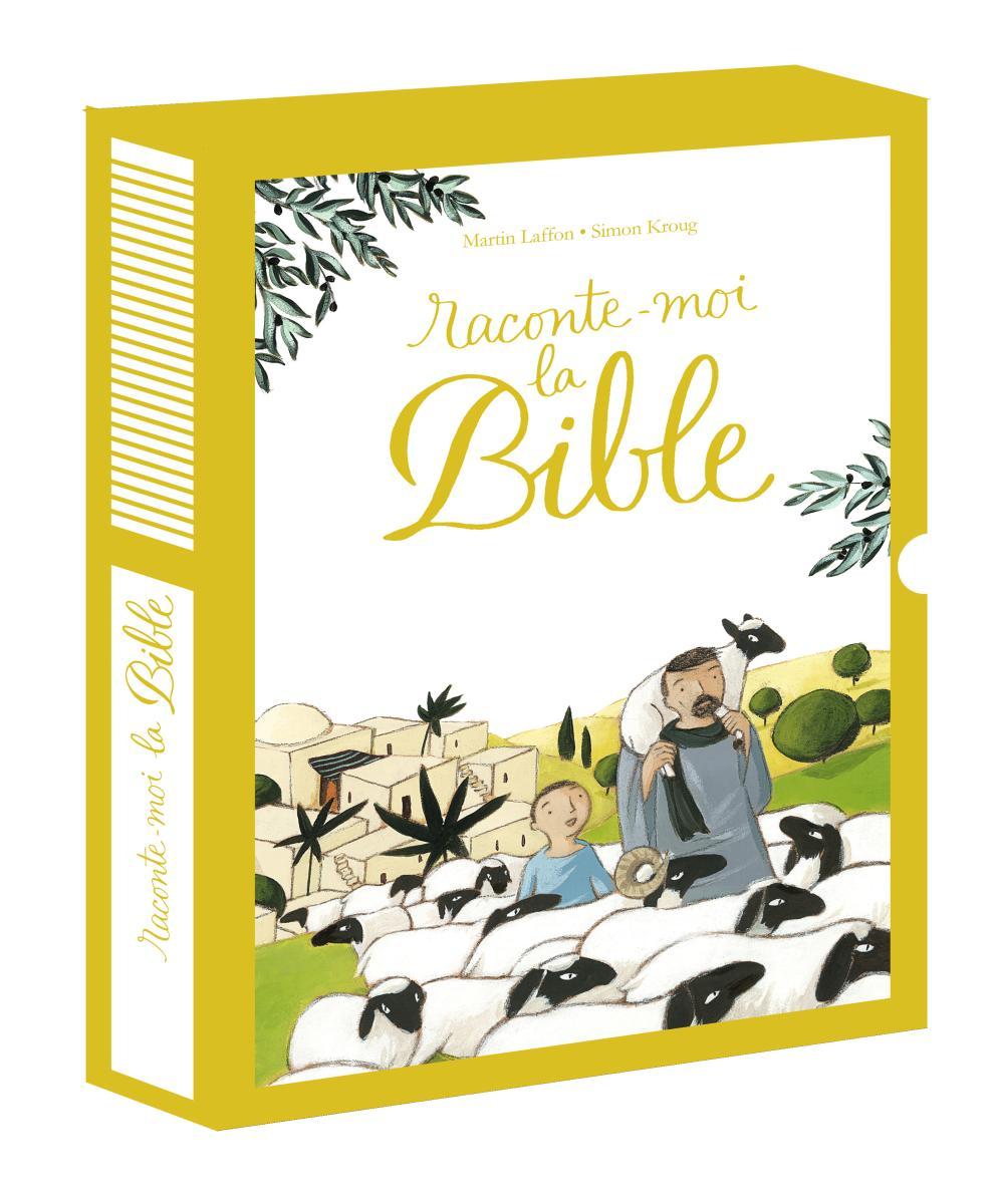 Couverture de «RACONTE-MOI LA BIBLE – COFFRET – (2013)»
