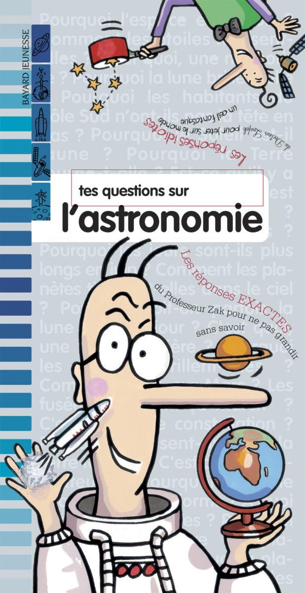 Couverture de «TES QUESTIONS SUR L'ASTRONOMIE – N2005»